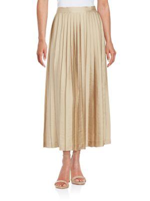 Peyton Pleated Skirt by KOBI HALPERIN