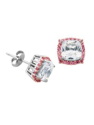 Sapphire Stud Earrings...