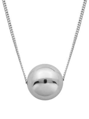 High Polished Ball Necklace...