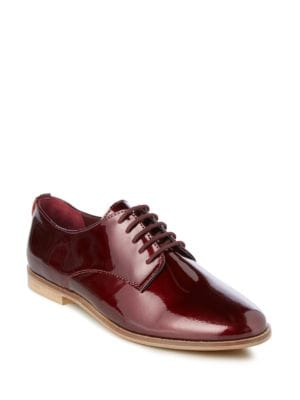 Flossy Round Toe Lace-Up Shoes by Dune London