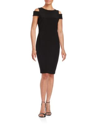 Cold Shoulder Sheath Dress by Vince Camuto