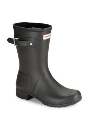 Original Tour Packable Short Rubber Rain Boots by Hunter