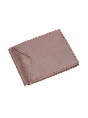 Money Clip Leather Bifold Wallet by Royce