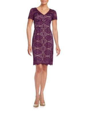 Lace Sheath Dress by Nue By Shani