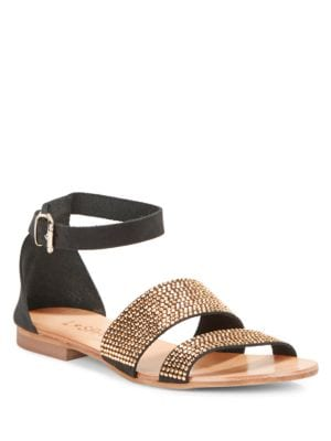 Soleil Studded Sandals by Cocobelle