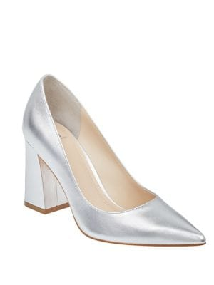 Jenny Leather Pumps by Marc Fisher LTD