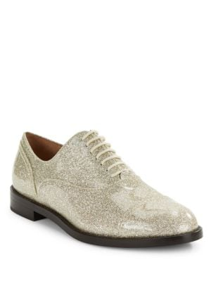 Clinton Patent Lace-Up Shoes by Marc Jacobs