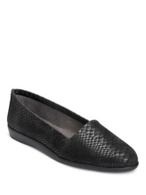 Trend Setter Snake Print Loafers by Aerosoles