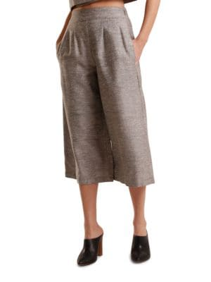 Heathered Silk Culottes by H Fredriksson