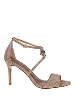 Brandy Embellished Sandals by Belle Badgley Mischka