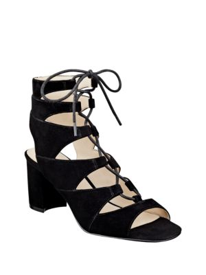 Take It Up Suede Sandals by Nine West