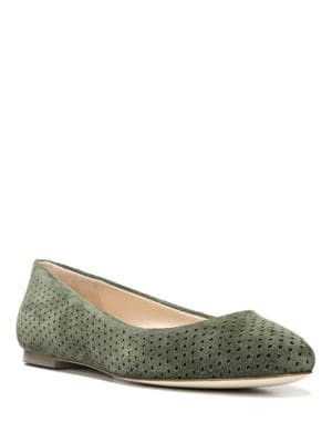 Original Perforated Suede Vixen Flats by Dr. Scholl's