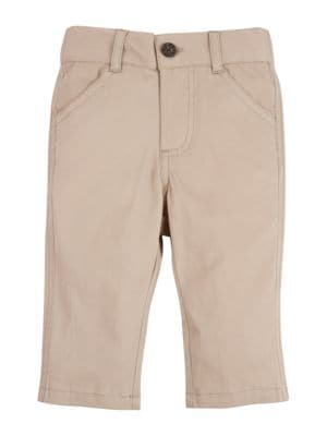 Babys Toddlers and Little Boys Solid Pants