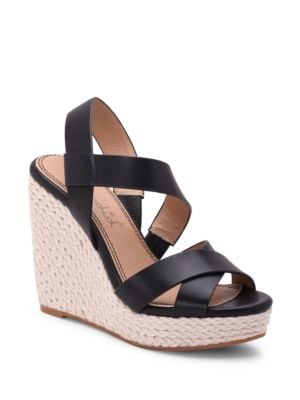 Dallis Wedge Sandals by Splendid