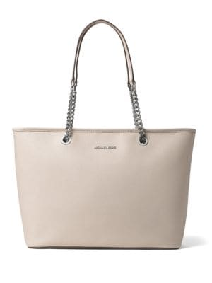 Jet Set Travel Medium Saffiano Leather Tote by MICHAEL MICHAEL KORS