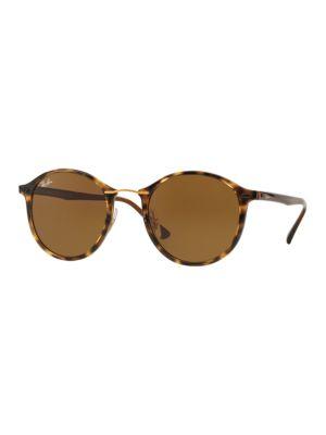 Phantos Tortoiseshell Round Sunglasses by Ray-Ban