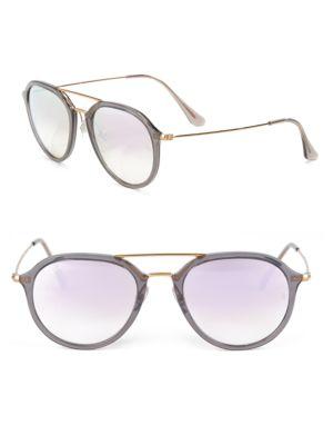 RB4253 Mirrored Aviator Sunglasses 500044015162