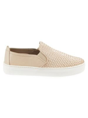 Sneak Name Leather Sneakers by The Flexx