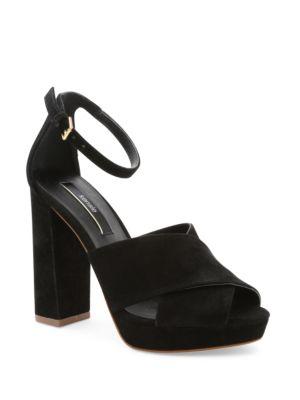Poliana Suede Dress Sandals by Kensie