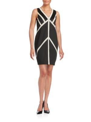 Striped Shift Dress by RACHEL Rachel Roy