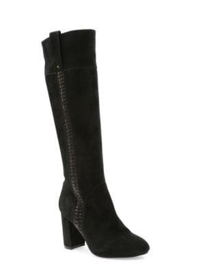 Bernadette Suede Knee-High Dress Boots by Kensie