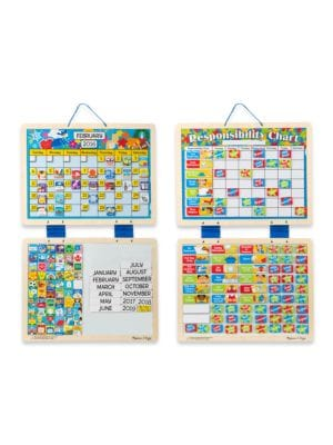 Magnetic Calendar and Responsibility Chart Bundle
