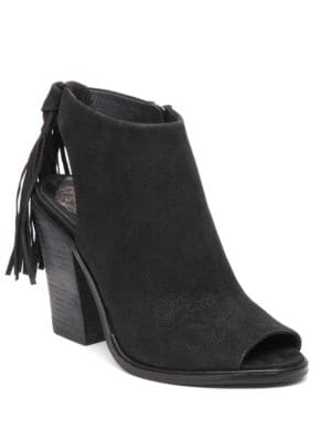 Kyleena Peep-Toe Booties by Vince Camuto