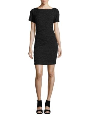 Textured Sheath Dress by West 22