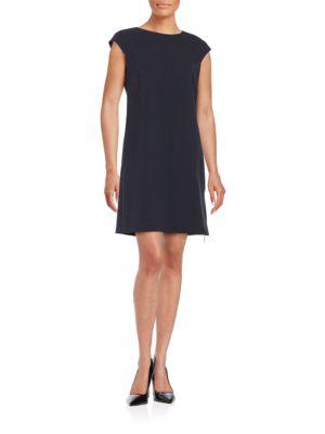Cap Sleeve Shift Dress by Eliza J