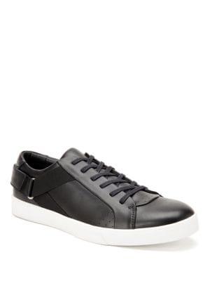 Italo Leather Slip-On Sneakers by Calvin Klein