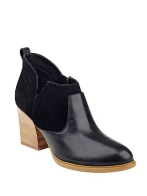 Ginger Leather Booties by Marc Fisher LTD