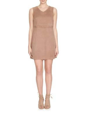 Suede Shift Dress by Cece