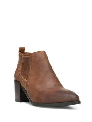 Magic Distressed Leather Bootie by Fergie