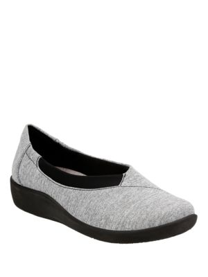 Sillian Jetay Round Toe Slip-On Shoes by Clarks