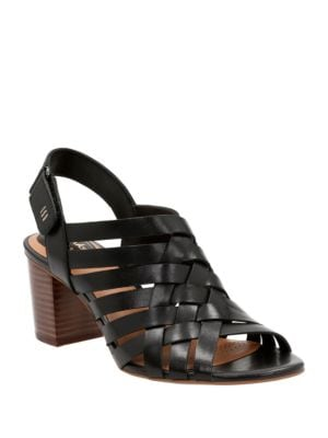 Ralene Luster Leather Sandals by Clarks