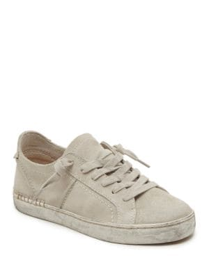 Zalen Suede Lace-Up Sneakers by Dolce Vita