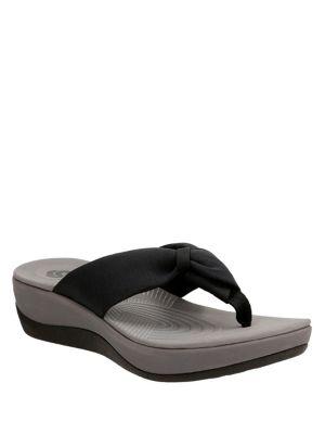 Arla Glison Tonal Flip Flops by Clarks