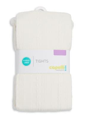 Fleece-Lined Tights @...
