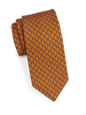 Classic Chain-Link Tie by Brooks Brothers