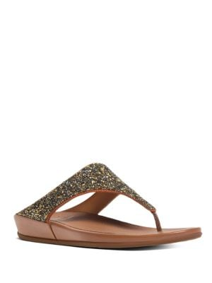 Buy Banda TM Roxy Embellished Thong Sandals by FitFlop online