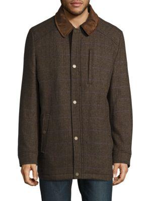 Metro Wool-Blend Jacket by Pendleton