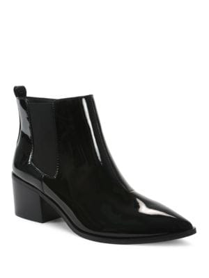 Ranch Patent Leather Ankle-Length Boots by Tahari