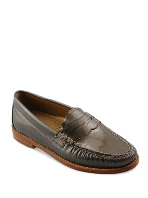Whitney Patent Leather Penny Loafers by G.H. Bass