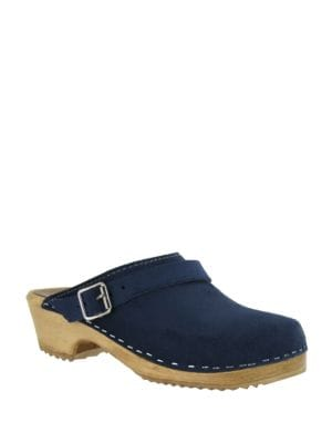 Suede Slip-On Clogs 500044820876
