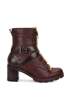Buy Ingrid Lace-Up Block-Heel Boots by UGG online
