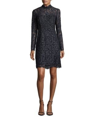 Long Sleeve Lace Dress by Betsey Johnson