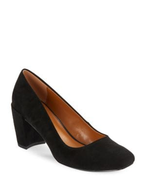 Whitney Suede Heels by H Halston