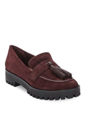 Giada Suede Loafers by Via Spiga