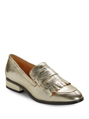 Buy Veronica Patent Leather Loafers by IMNYC Isaac Mizrahi online