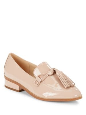 Bianca Patent Leather Loafers by IMNYC Isaac Mizrahi